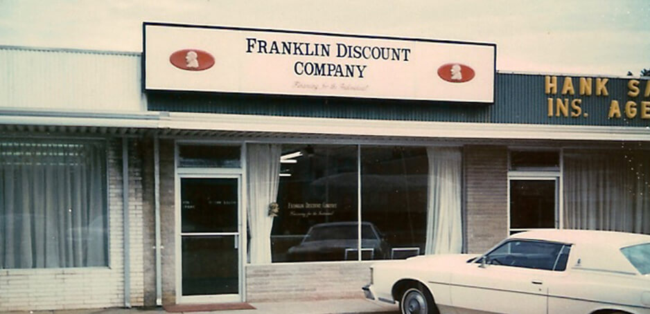 Storefront from 1970s.